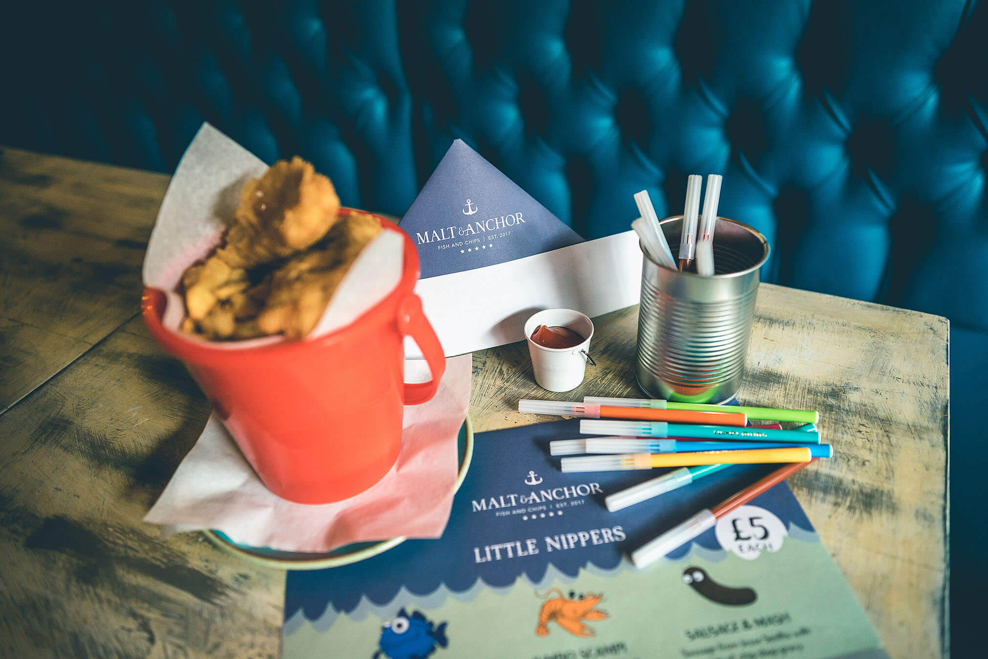 Malt anchor fish and chips to eat in or take away in for Anchor fish and chips